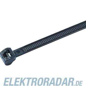 HellermannTyton Kabelbinder außenverzahnt T50ROS-HS-BK-D1