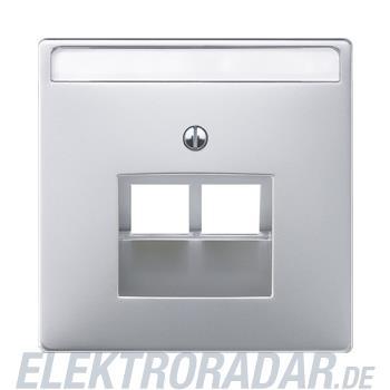 Merten Zentralplatte alu 292660