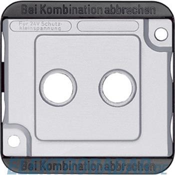 Merten Zentralplatte mat/si 294660
