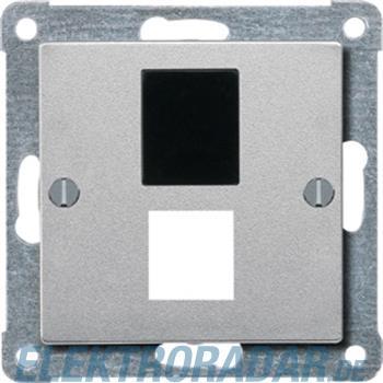 Merten Zentralplatte alu 295760