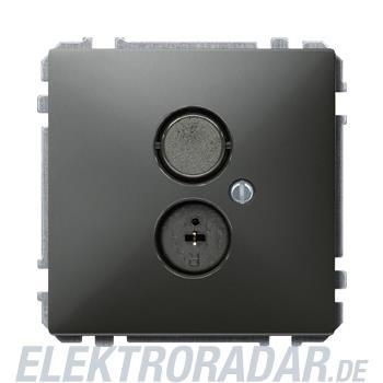 Merten Steckdosen-Einsatz sw/gr 297669