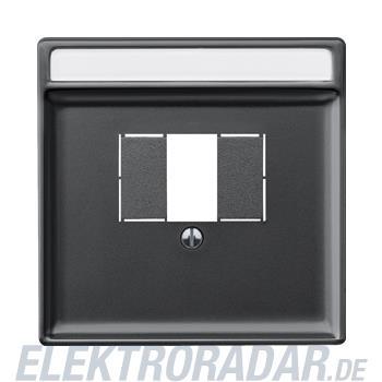 Merten Zentralplatte sw/gr 297869