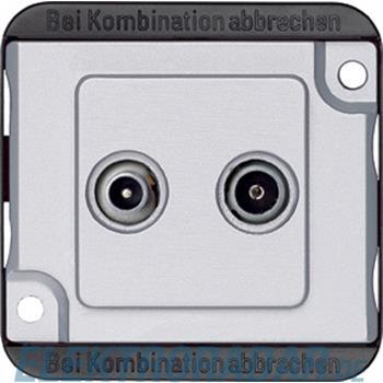 Merten BK/Sat-Antennendose ma/si 299460