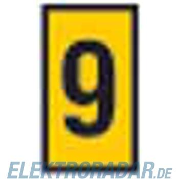HellermannTyton Etiketten CWMS-9-260-YE