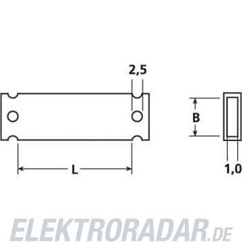HellermannTyton Zeichenträger HC 18-35-CL (VE50)