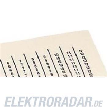 WAGO Kontakttechnik Laseretikett 210-331/500-103
