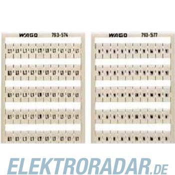 WAGO Kontakttechnik WMB-Bezeichnungssystem 793-578