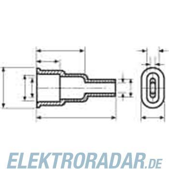 HellermannTyton Schutzkappe HV4825-PVC-NA-N1