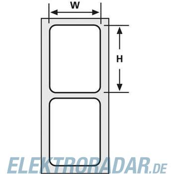 HellermannTyton Etiketten TAG73TD1-1208-WH