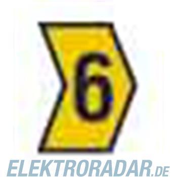 HellermannTyton Kennzeichnungstülle HG1-3-6-PVC-YE-M4