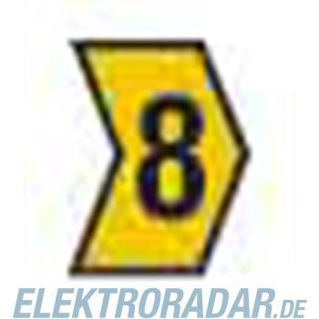 HellermannTyton Kennzeichnungstülle HG1-3-8-PVC-YE-M4
