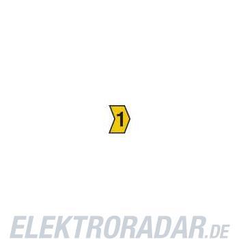 HellermannTyton Kennzeichnungstülle HG4-9-1-PVC-YE-G4