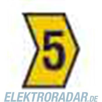 HellermannTyton Kennzeichnungstülle HG4-9-5-PVC-YE-G4