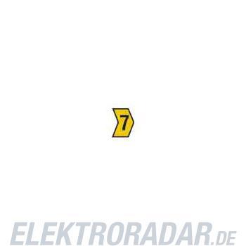 HellermannTyton Kennzeichnungstülle HG4-9-7-PVC-YE-G4