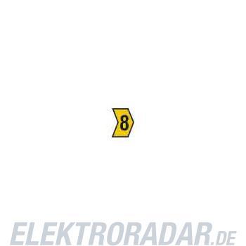 HellermannTyton Kennzeichnungstülle HG4-9-8-PVC-YE-G4