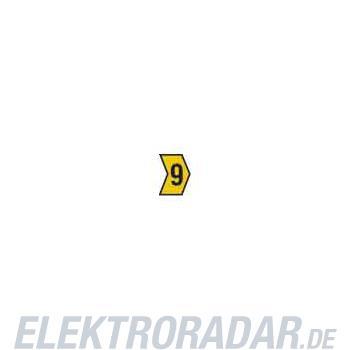 HellermannTyton Kennzeichnungstülle HG4-9-9-PVC-YE-G4