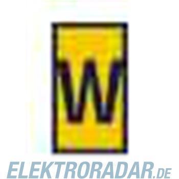 HellermannTyton Kennzeichnungstülle HODS85-W-PVC-YE-M4
