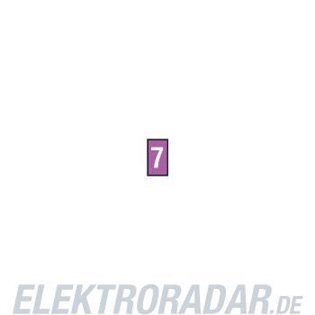 HellermannTyton Kennzeichnungstülle HODS50-7-PVC-VT-M4