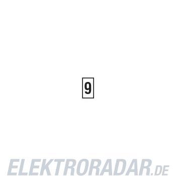 HellermannTyton Kennzeichnungstülle HODS50-9-PVC-WH-M4