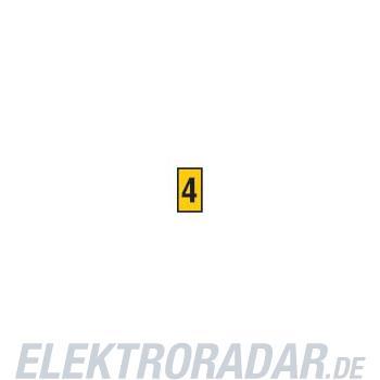 HellermannTyton Kennzeichnungstülle HODS50-4-PVC-YE-M4