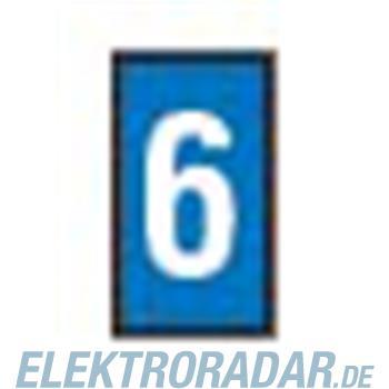 HellermannTyton Kennzeichnungstülle HODS50-6-PVC-BU-M4