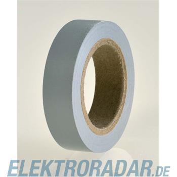 HellermannTyton PVC Isolierband Flex 15-GY15x10m
