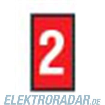 HellermannTyton Kennzeichnungstülle HODS85-2-PVC-RD-M4