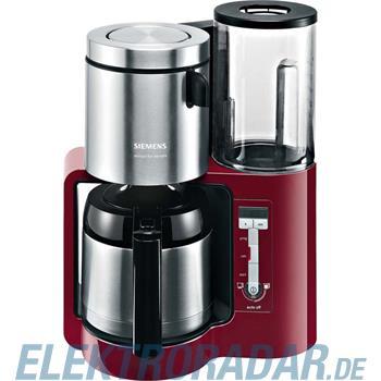 Siemens Kaffeemaschine TC86504 cranb red/sw