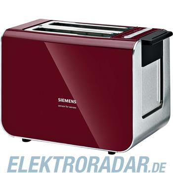 Siemens Toaster TT 86104cranb red/sw