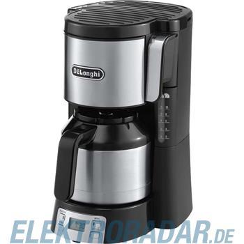 DeLonghi Filterkaffeemaschine ICM 15750 si/sw