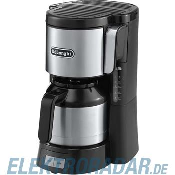 DeLonghi Filterkaffeemaschine ICM 15740 si/sw