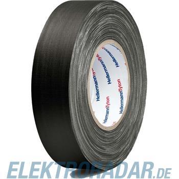 HellermannTyton Gewebeband HTAPE TEX BK 50x50m