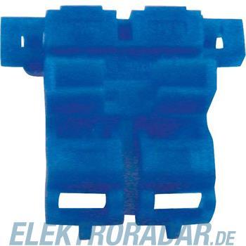 Quante Flachsicherungshalter 972, blau (VE25)