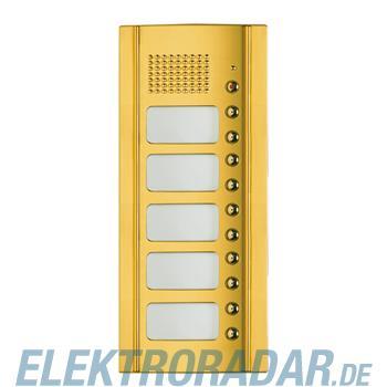 Legrand 333105 Frontblende Monobl. Türl.+ 10 RT -Messing