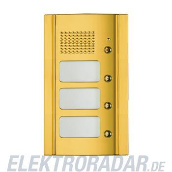 Legrand 333135 Frontblende Monobl. Türl.+ 3 RT -Messing