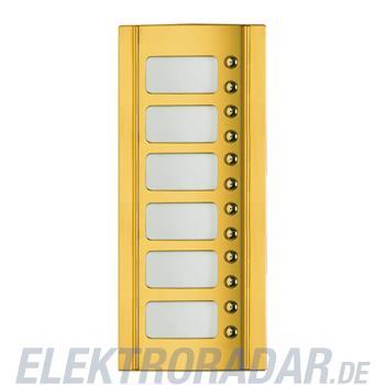 Legrand 333205 Frontblende Monobl. 12 RT -Messing