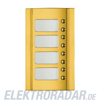 Legrand 333285 Frontblende Monobl. 8 RT -Messing