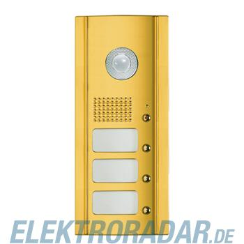 Legrand 333835 Frontblende Monobl. 3 RT für Video -Messing