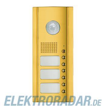 Legrand 333865 Frontblende Monobl. 6 RT für Video -Messing