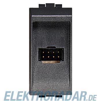 Legrand 336983 Steckdosenmodul 8-polig -anthrazit