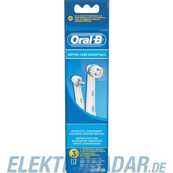Procter&Gamble Braun Oral-B Mundpflege-Zubehör EB OrthoCare Ess 3er