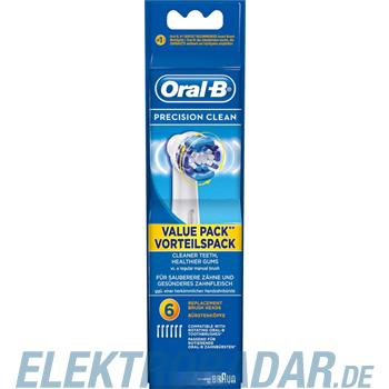 Procter&Gamble Braun Oral-B Mundpflege-Zubehör EB PrecCl 6er