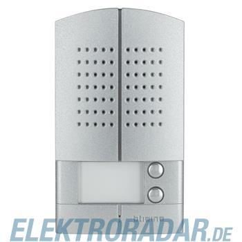 Legrand 342972 AP-Türstation Linea 2000 Metall Audio 2RT -alu
