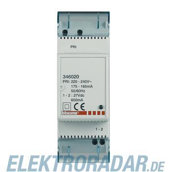Legrand 346020 Zusatznetzgerät Ausgang 1-2 max 600 mA 2Module