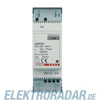 Legrand 346030 Netzgerät AV-SCS Ausgang BUS-AV max 600mA 2 Module