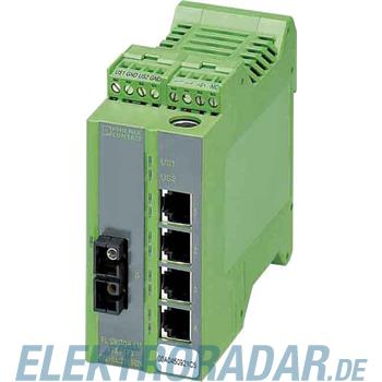 Phoenix Contact Ethernet Managed Switch LM 4TX/1FX SM