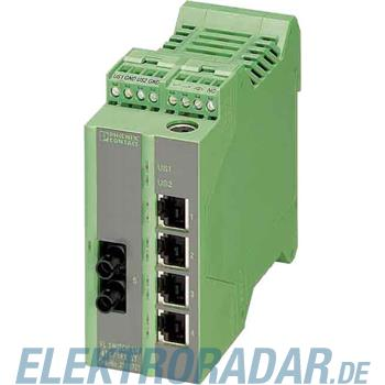 Phoenix Contact Ethernet Managed Switch LM 4TX/1FX SM ST
