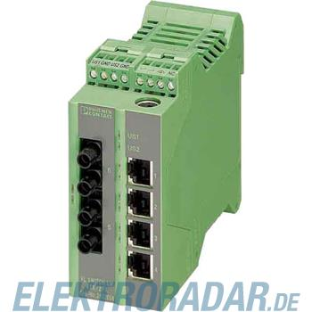 Phoenix Contact Ethernet Managed Switch LM 4TX/2FX SM ST
