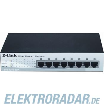 DLink Deutschland 8-Port Switch, managed DES-1210-08P