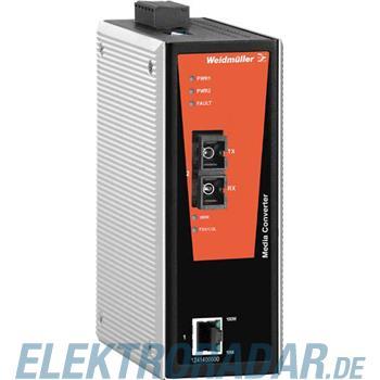 Weidmüller Netzwerk-Switch IE-MC-VL-1TX-1SC